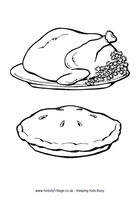 coloring pages for thanksgiving dinner thanksgiving dinner colouring page thanksgiving