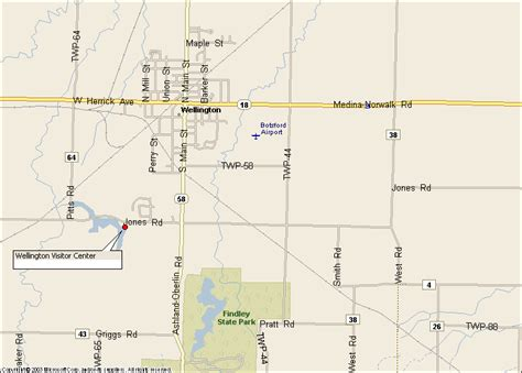 wellington ohio map up map for overview map see below for directions
