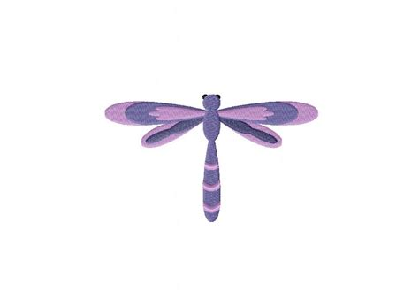 Kitchen Tattoo Designs Purple Dragonfly Machine Embroidery Design Daily Embroidery
