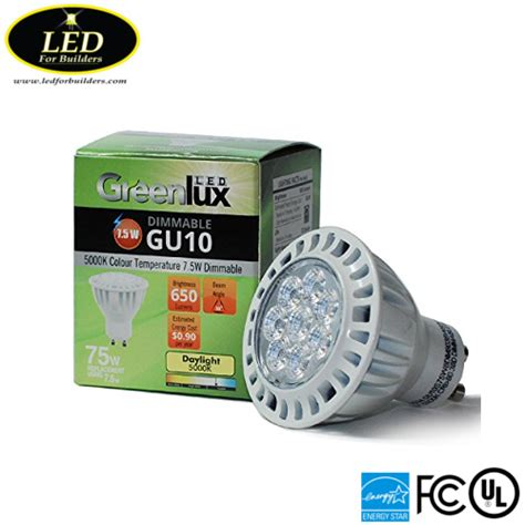 Lu Bohlam Led Sook 5w 5 Watt led for buildershigh quality greenlux gu10 7 5w 5000k 650 lumen led bulb led for builders
