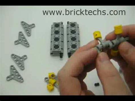 lego motor tutorial build a lego v8 engine tutorial dragtimes com