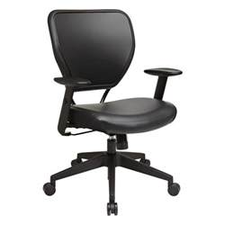 space seating black vinyl office chair 5500v the home depot