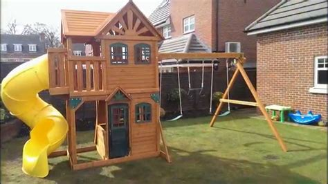 swing sets for sale kmart playset plans the backyard discovery skyfort ii wooden