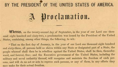 abraham lincoln biography emancipation proclamation emancipation proclamation the shout heard round the
