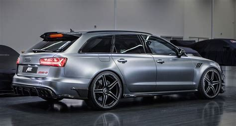 Audi Rs6 R by Abt Audi Rs6 R Revealed With 730 Ps