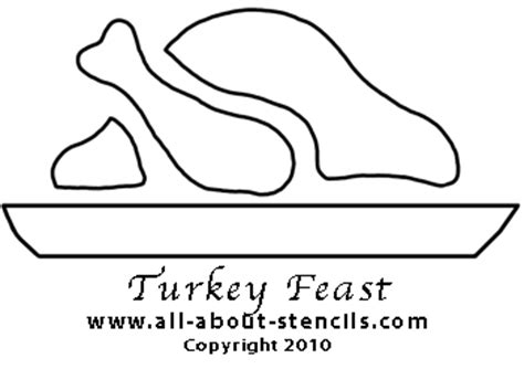can you pattern turkeys thanksgiving crafts and free stencils to print