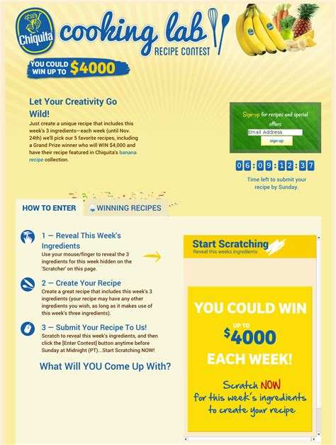Sweepstakes Exles - should you run a sweepstakes or a contest social media today