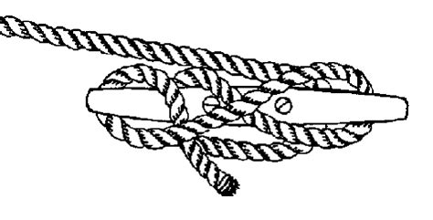boat dock cleat knot 5 knots every boater should know boat