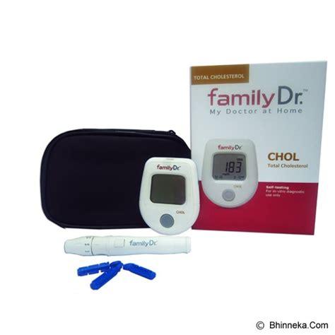 jual family dr cholesterol meter murah bhinneka
