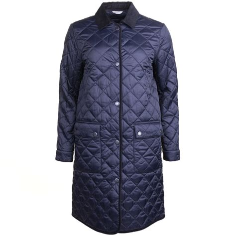 Navy Quilted Jacket Womens by Buy Barbour Heritage Womens Navy Quilted Border Jacket At