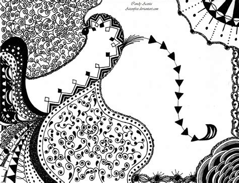 how to draw a zendoodle 11 zendoodle drawing by aizenfree on deviantart