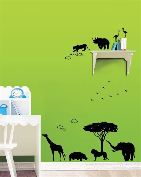 Decals Nursery Walls Africa Wall Stickers For Nursery Wallstickery