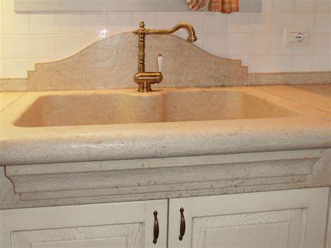lavello travertino blocco lavello excellent lavello con alzatina e blocco