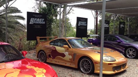fast and furious 8 universal studios fast and furious movie cars universal studios youtube