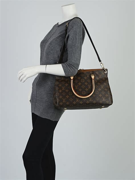 louis vuitton havane monogram canvas pallas bag yoogis
