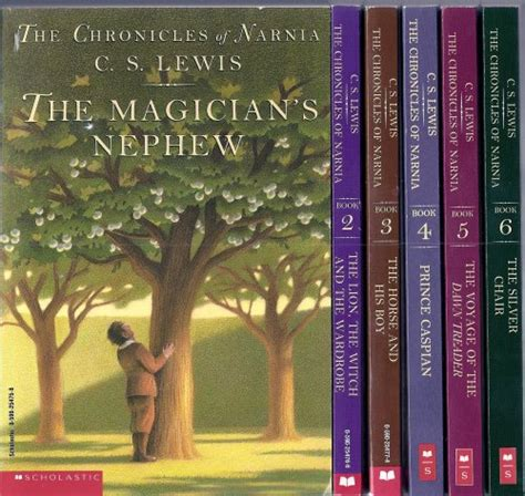 chronicles of narnia series author mhhs media center series
