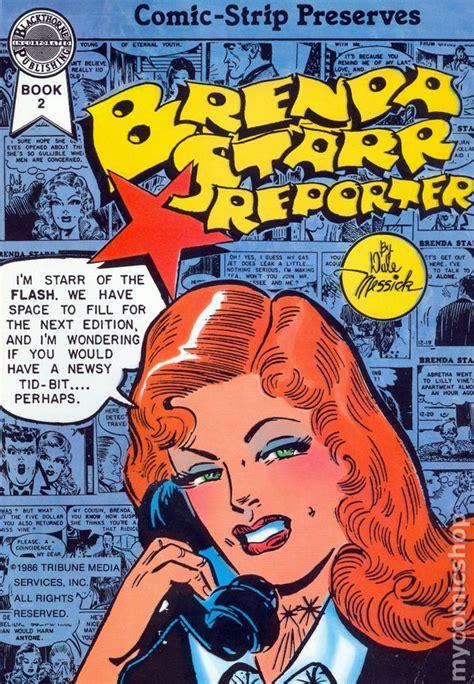 comic book reporter brenda reporter 1986 blackthorne comic books