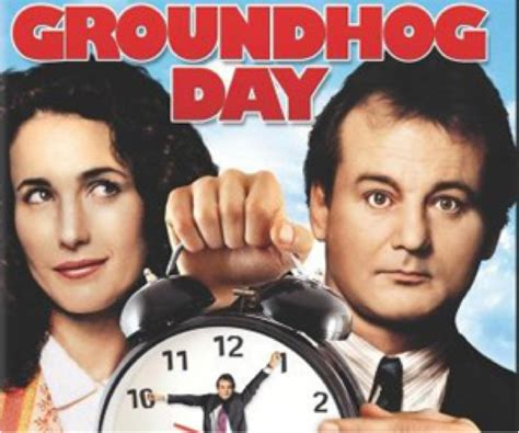 groundhog day where filmed another groundhog day is your organisation driving you