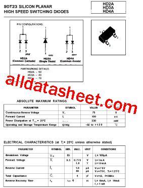 ztx320 transistor datasheet hd2a datasheet pdf list of unclassifed manufacturers