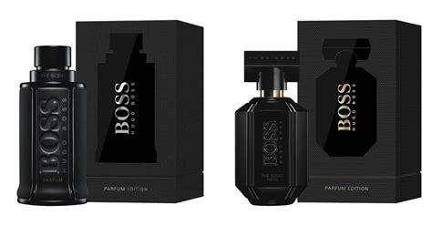Parfum Hugo The Scent hugo the scent parfum editions new fragrances