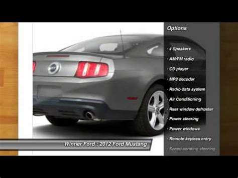 Winner Ford Dover by 2012 Ford Mustang Dover De P1000