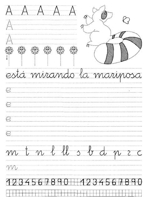 cuaderno de escritura 1 escritura caligrafia cuaderno rubio 03 pdf