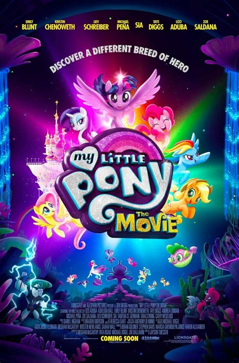 film mlp 4 my little pony la pel 237 cula 2017 filmaffinity