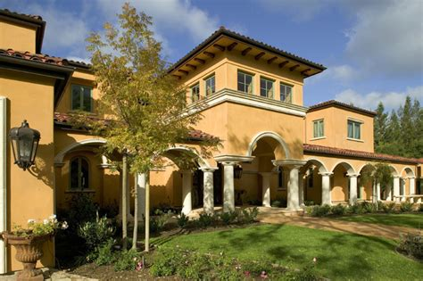 monte sereno tuscan custom home mediterranean exterior san francisco by conrado home