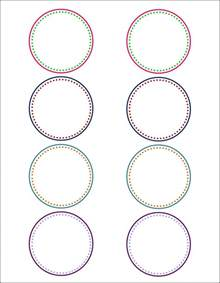 circle gift tag template how to make pretty labels in microsoft word