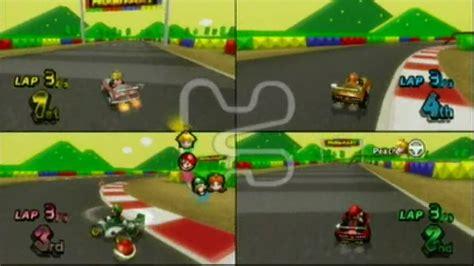 best 4 player wii mario kart wii multi player medium gameplay