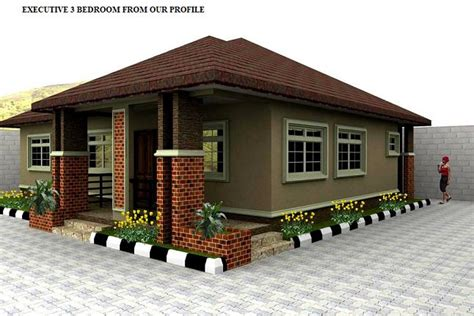 3 Bed Bungalow Floor Plans Designs Build Consultants With Sound Xperience