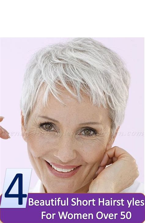 short hairstyles over 50 uk 4 beautiful short hairstyles for women over 50