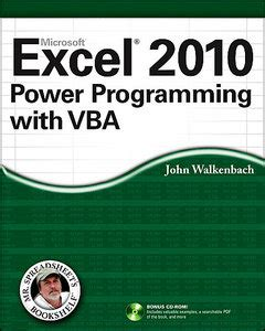new book quot parallel programming with microsoft visual c excel 2010 power programming with vba free ebooks download