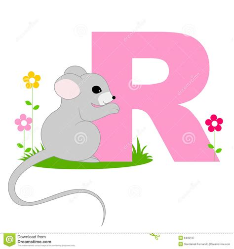 lettere con animali animal alphabet r royalty free stock photography image