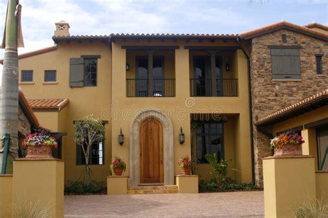 decoration espagnole maison maison de type espagnol photo stock image du luxueux