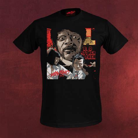 T Shirt Pulp Fiction by Tarantino Pulp Fiction T Shirt Jules Winfield Tarantino Xx