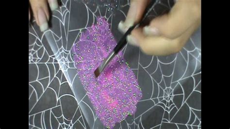 How To Make Glitter Stay On Paper - how to make glitter paper for nail