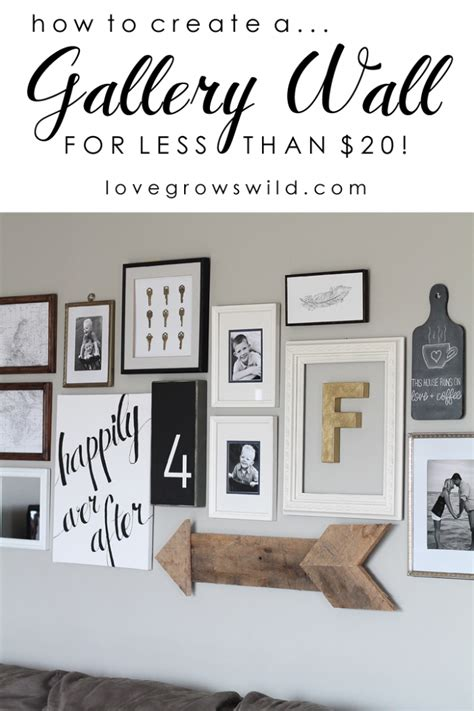 Wall Inspiration | gallery wall inspiration and tips
