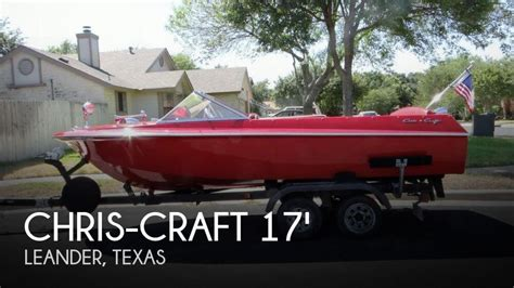 chris craft boats for sale in texas for sale used 1969 chris craft 17 cavalier in leander