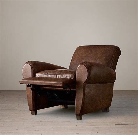 restoration hardware recliner 1000 ideas about leather recliner chair on pinterest