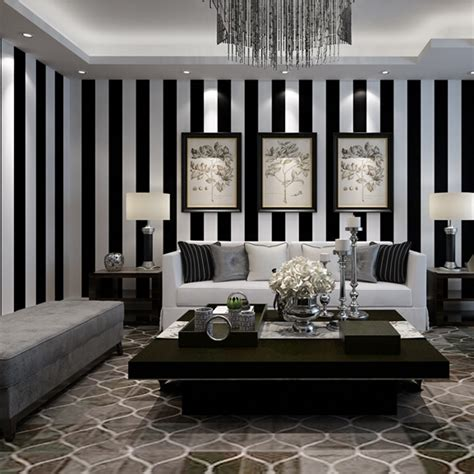 wallpaper for walls wholesale online buy wholesale white stripes wallpaper from china