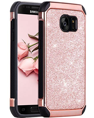 Samsung S7 Shining Chrome galaxy s7 bentoben 2 in 1 luxury glitter bling