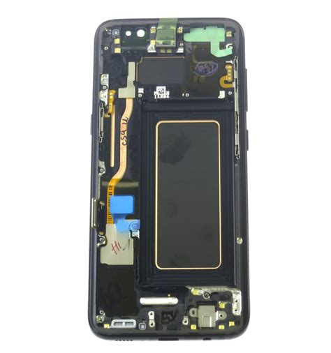 Lcd Samsung S8 lcd touch screen front panel black original for