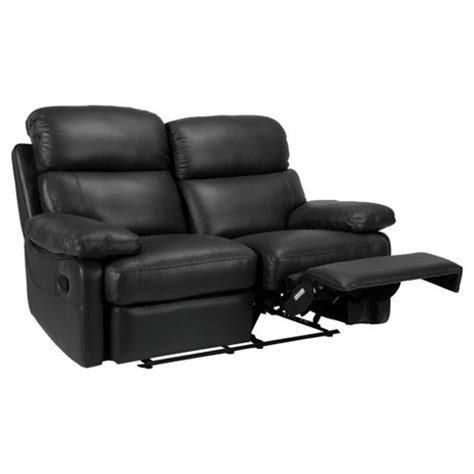Small Black Recliner Buy Cordova Leather Small Recliner Sofa Black From Our All