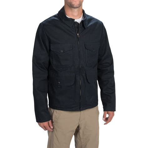 Bomber Riff Kanvas Fit L filson bell bomber jacket cotton canvas for in navy
