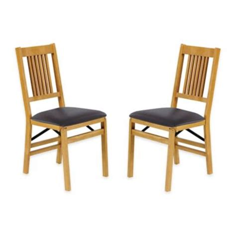 buy wood folding chairs from bed bath beyond