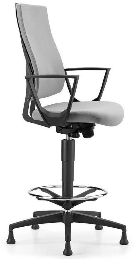 sgabelli per ufficio sgabello con base in alluminio e braccioli per ufficio