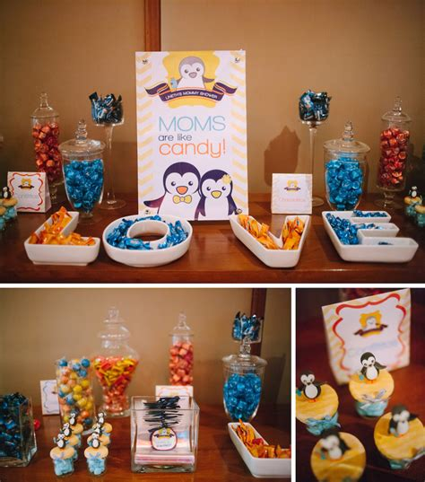 Penguin Baby Shower Decorations by Penguin Nursery And Shower Project Nursery