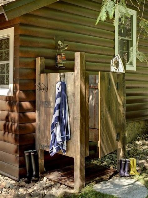 outdoor shower photos outdoor showers the owner builder network