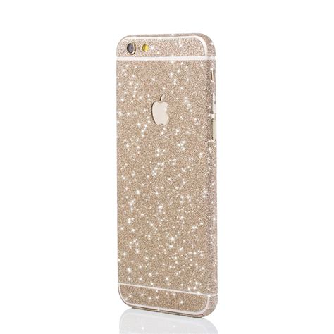 Glitzerfolie Gold by Apple Iphone White Gold Glitzerfolie F 252 R Apple Iphone 5 6 7